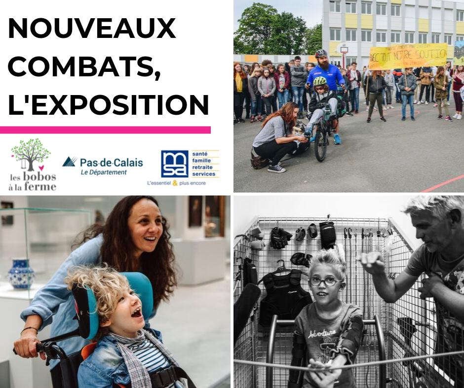 NOUVEAUX COMBATS, L'EXPOSITION